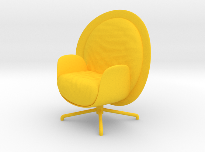 ZON Lounge Chair by RJW Elsinga 1:10