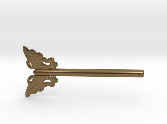 Butterfly Asian Furniture Hardware Lock Door Pin