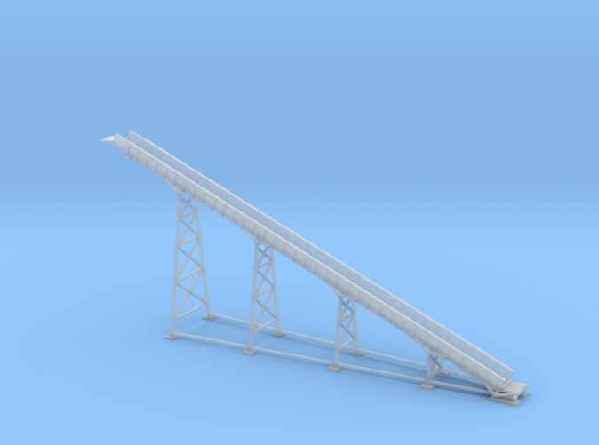 68ft Conveyor loader Z scale