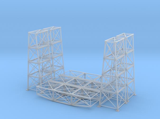 Steel bridge Z scale