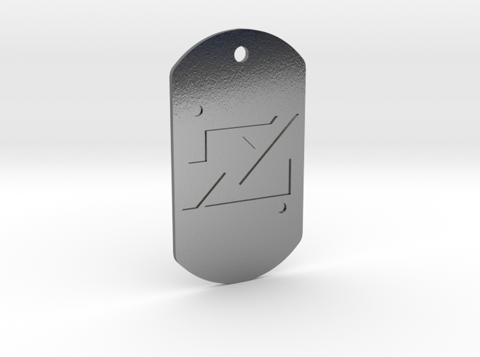 Zod Kandorian Dog Tag Double Sided 4rs3r57vx By Replicaprops