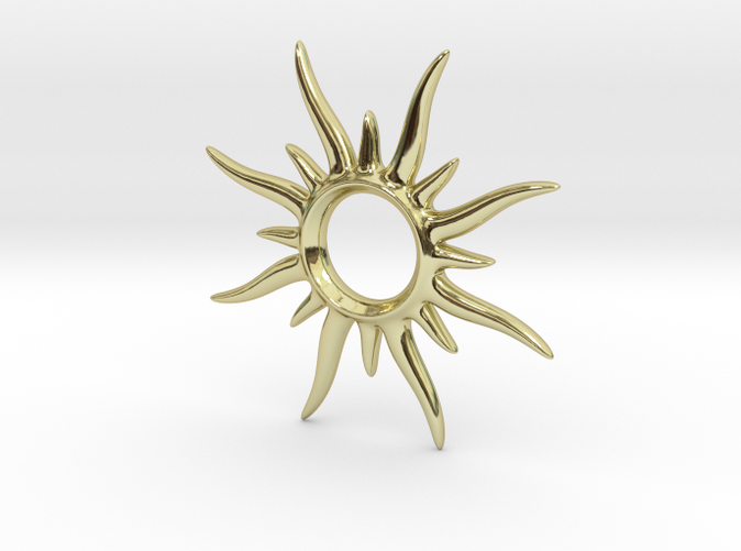 SunSpark gold plated