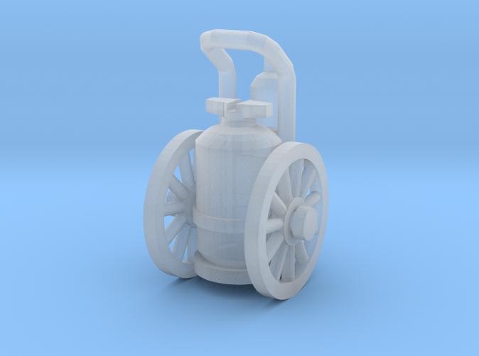 Wheeled Fire Extinguisher Z scale