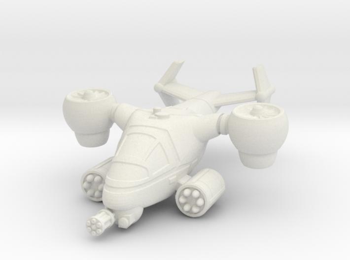 Terran Ground Attack VTOL 3d printed