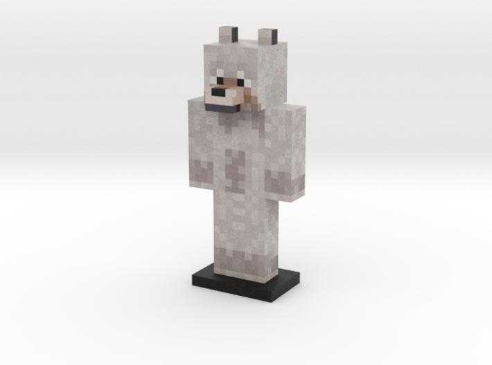 Wolf 3d printed