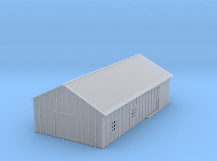 Clay Spur Warehouse 1 Z Scale 3d printed Clay Spur Wearhouse z scale