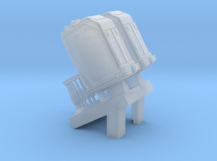1/16 SPM-16-011 LBT MK48 Box Mag 3d printed