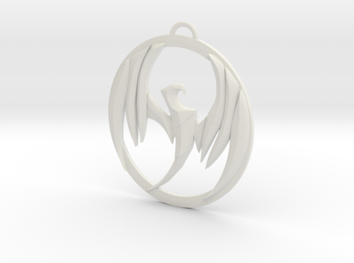 Storm Hawks Pendant 3d printed