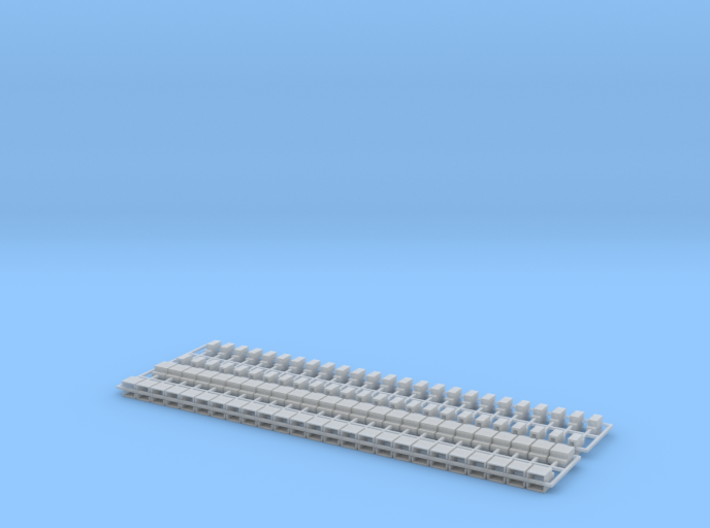2 Set Blocks Z Scale 3d printed
