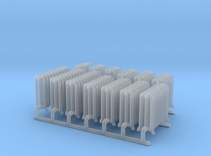 Radiator Assortment 2 HO Scale 3d printed