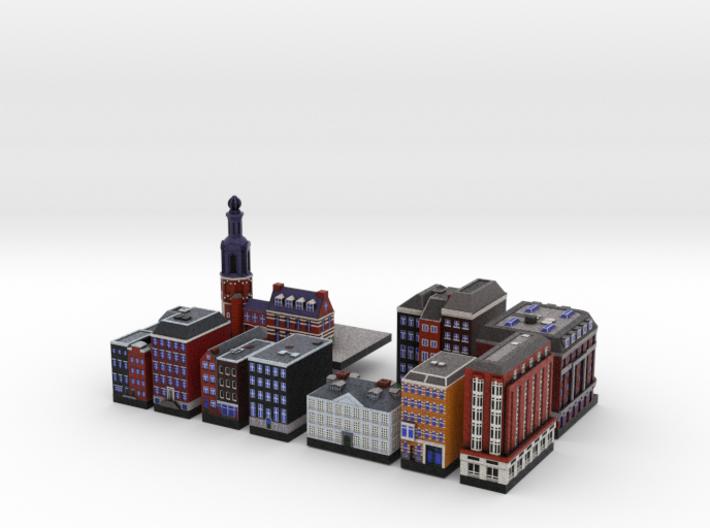 Amsterdam Set 3d printed