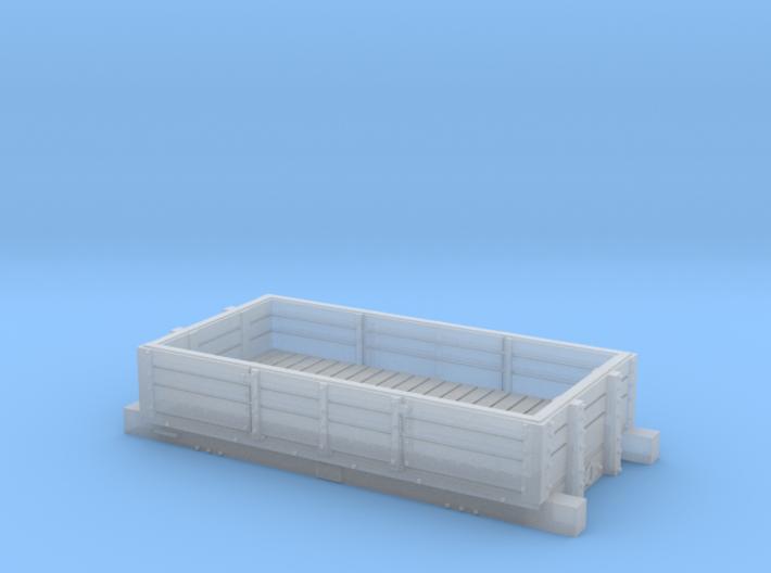 LB&SCR coal wagon 1850 (version 1) 3d printed