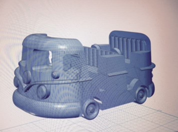 Groovy Bus 4 PackM 3d printed