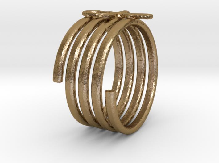 Spiral Ring 3d printed