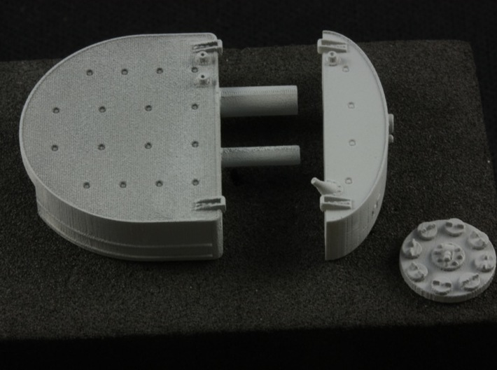 1:32 Albatros D.V/a Fuel Tank (WNW drop in) 3d printed shown in primer