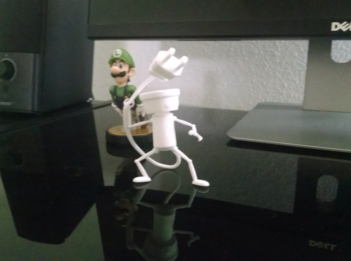 Chibi Robo No Base 3d printed