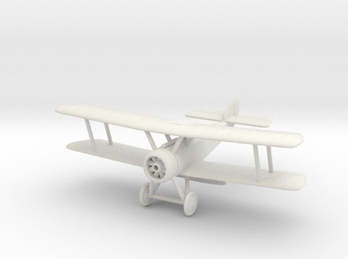 1/144 or 1/100 Sopwith Pup 3d printed