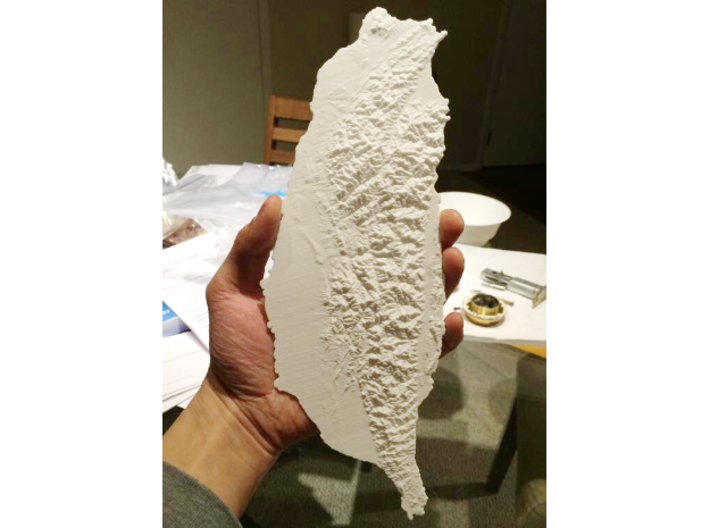 Taiwan, 28cm - Navigator Series 3d printed Photograph of full 28cm model