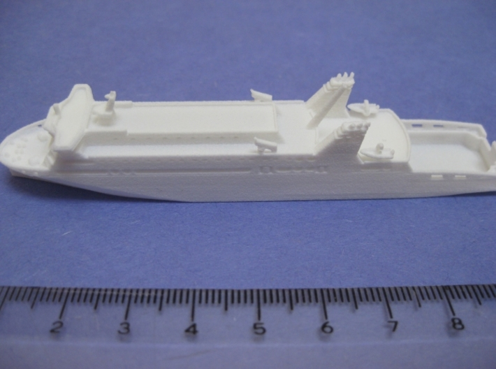 MV Loch Seaforth (1:1200) 3d printed