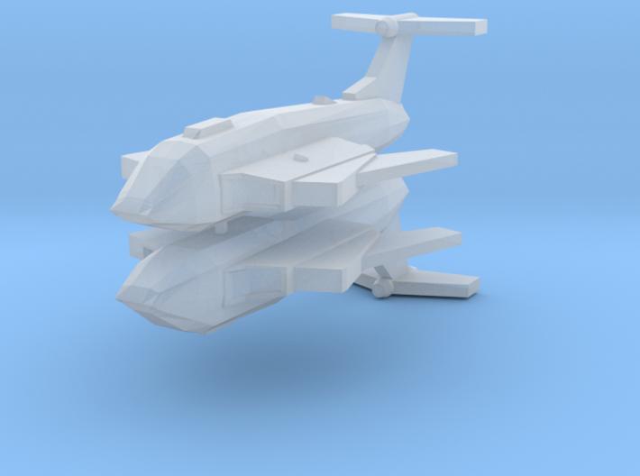[Galaxia] Le Vainqueur (Wings Swept) x2 3d printed