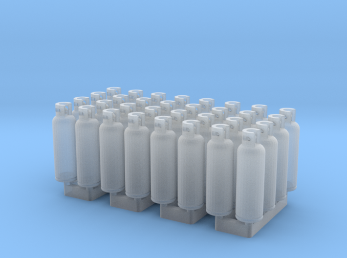 LPG Tanks 20kg, 32pc., N-scale 3d printed