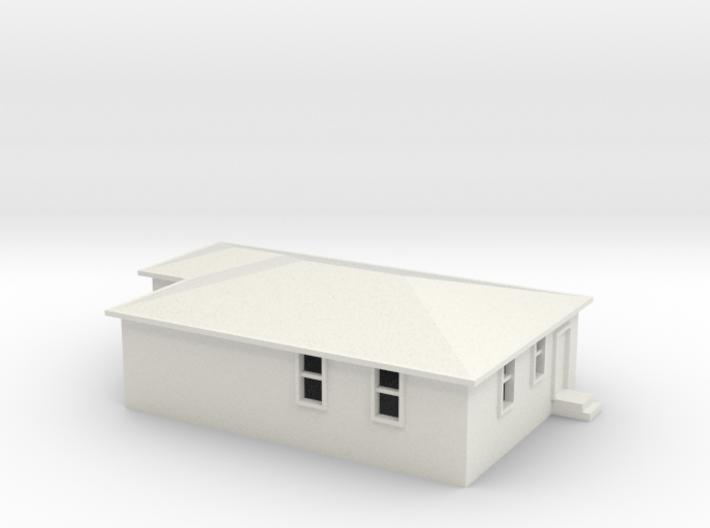 N Scale Australian House #2B 3d printed