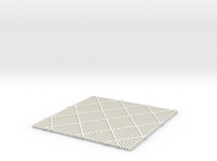 Grid 3d printed
