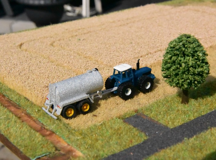 1:160/N-Scale Ford County 1884 on wide wheels 3d printed Add a caption...