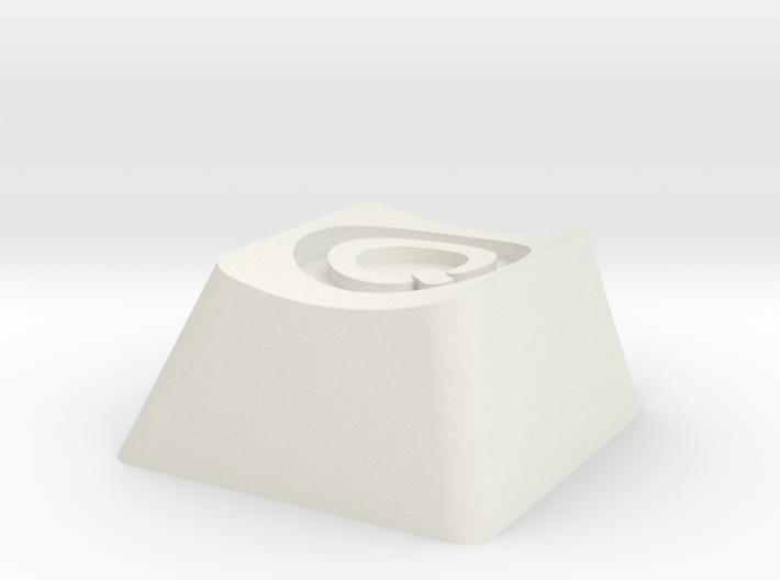 Q Dance Cherry MX Keycap 3d printed