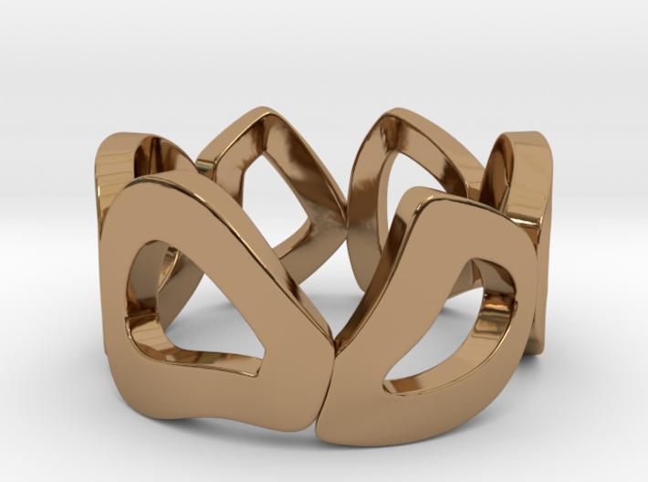 rocks ring 3d printed