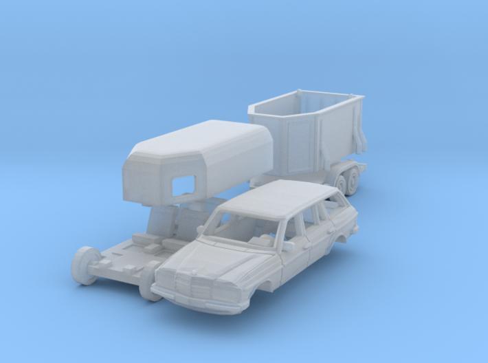 SET Mercedes T + Böckmann Duo (TT 1:120) 3d printed