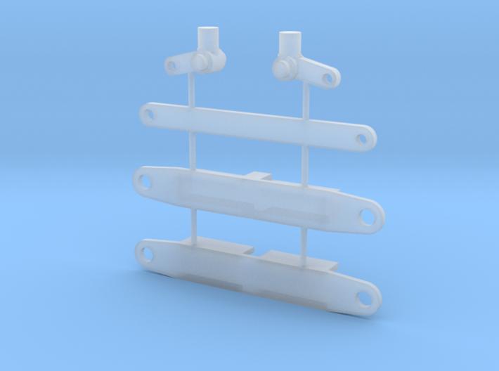 Vorderachse PKW 1 : 87 3d printed