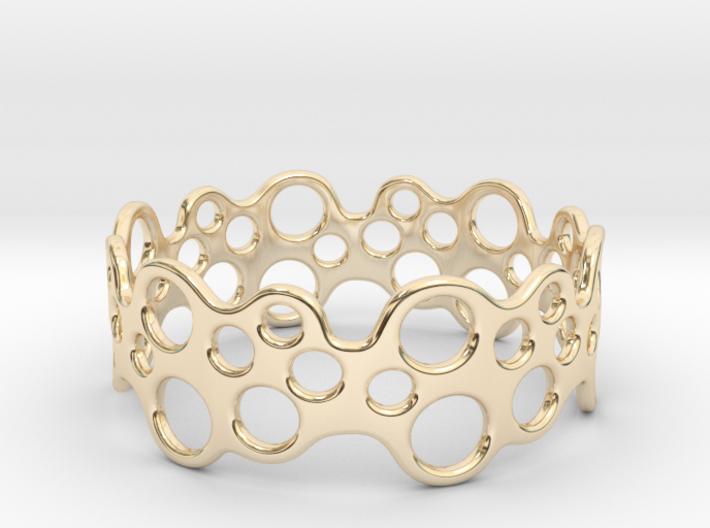 Bubbles Bracelet 68 3d printed