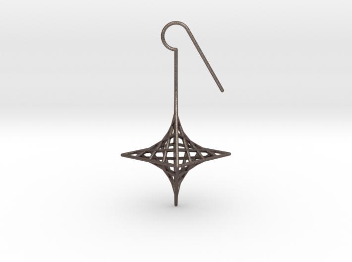star_quad (medium) 3d printed