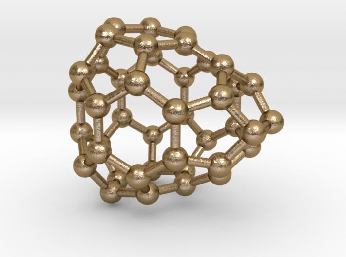 0242 Fullerene C42-21 c2v 3d printed