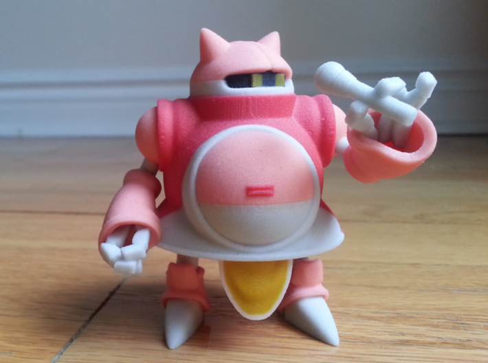 Gato from Chrono Trigger 3d printed