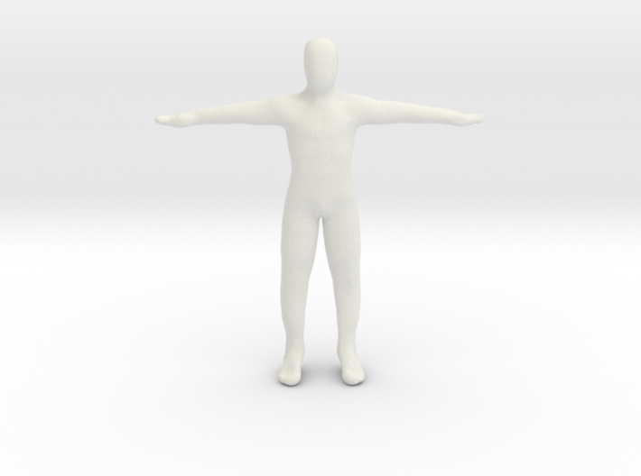 Dummy body 3d printed