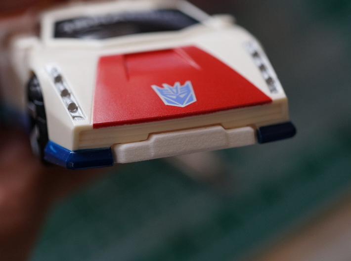 Lambo Chest Plate 3d printed