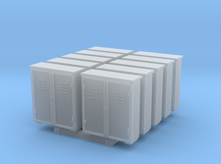 Relay Box - set of 10 - HOscale 3d printed