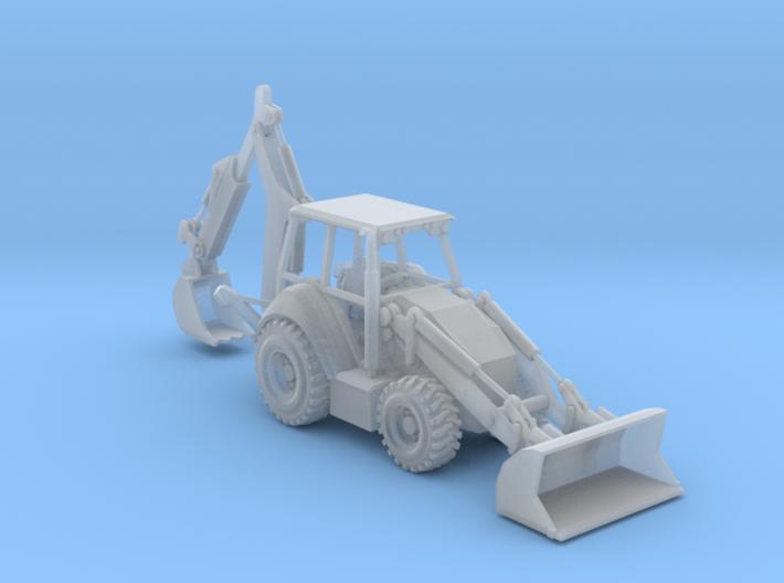 Cat 430F Backhoe N Scale 3d printed