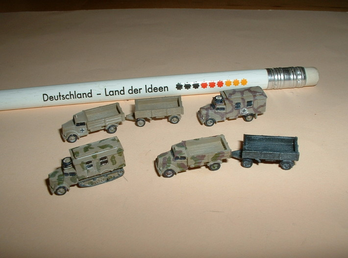 Opel Blitz Variants 2 1/285 6mm 3d printed