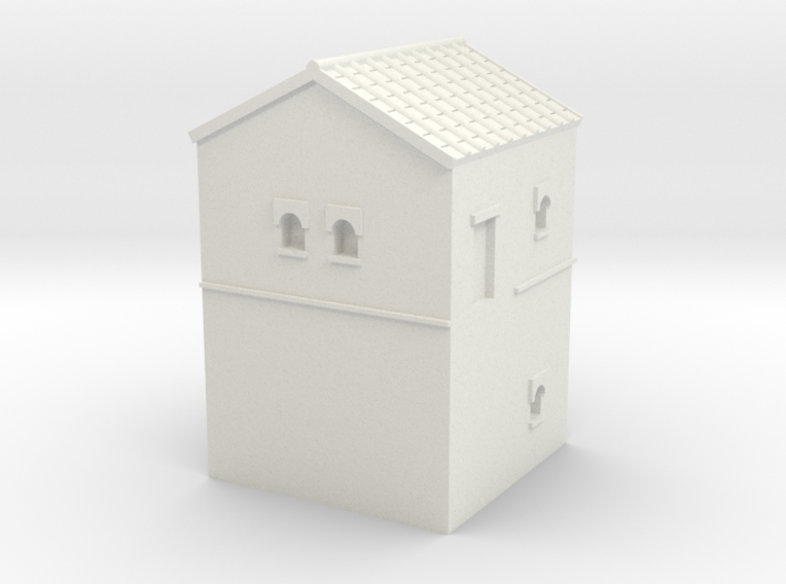 Roman Turret A (6mm Hadrian Wall Series) 3d printed