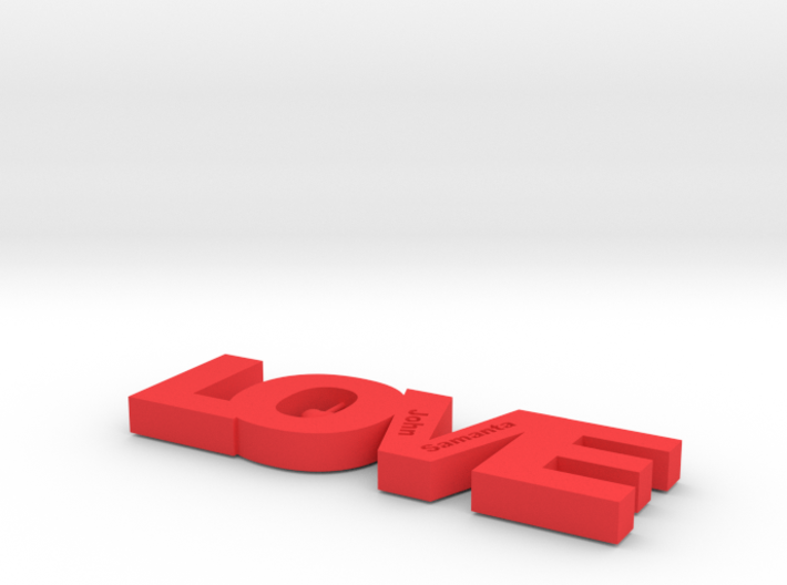 LOVE (Personalize as you wish) 3d printed