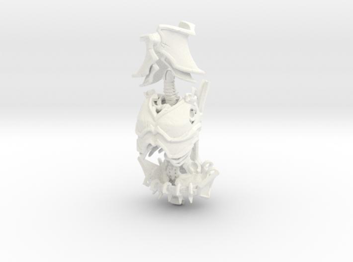SL01-Torso-04 LICH  7inch 3d printed