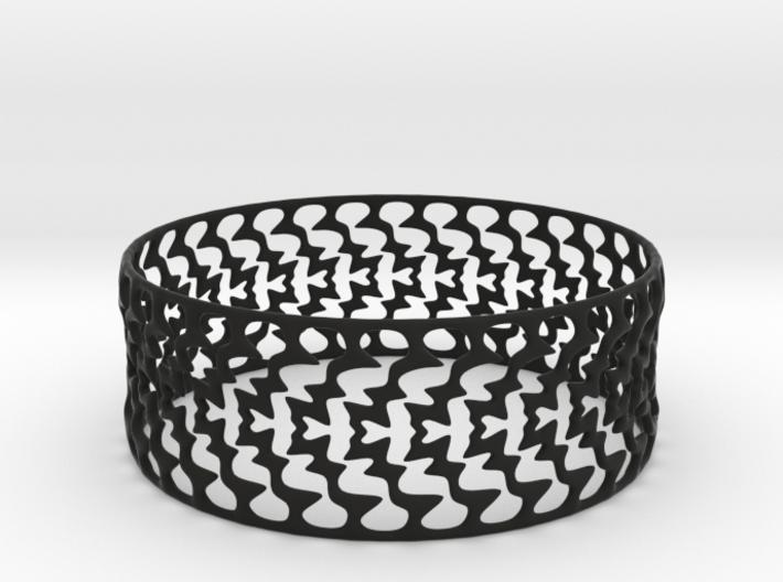 Bracelet 'Lightning' 3d printed