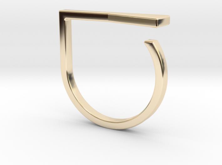 Adjustable ring. Basic model 16. 3d printed