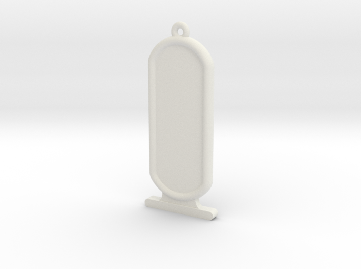 ExtraLong Customizable Ancient Egyptian Cartrouche 3d printed