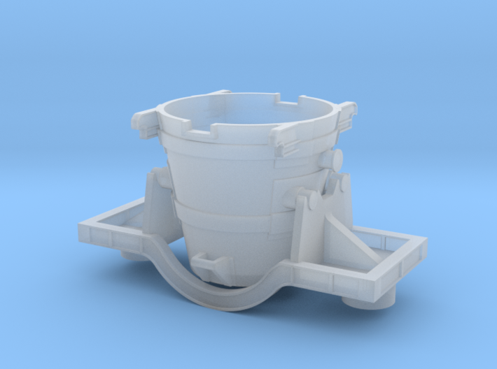 Iron Ladle Car - Zscale 3d printed
