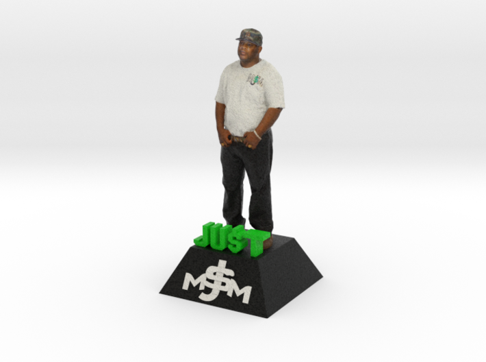 "JU$T MONEY - 8"" FIGURINE 3d printed"