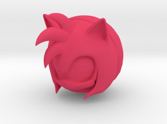 Custom Amy Rose The Hedgehog Inspired Lego 3d printed